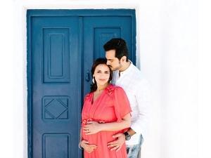 Prenatal Photoshoot Esha Deol Shows Some Real Maternal Styl