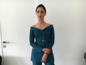 Tamannaah Bhatia Carries Sophisticated Look At Times Now Eve