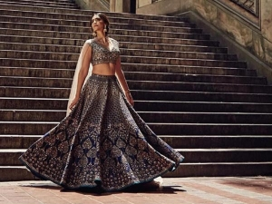 Sonam Kapoor Gets Decked Anita Dongre S Bazaar Bride Feature