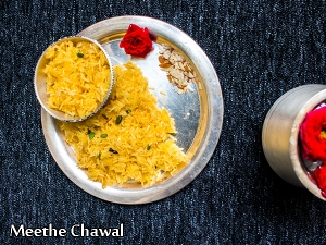 Meethe Chawal Recipe: How To Make Zarda Pulao