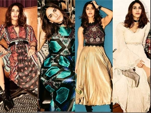 Vaani Kapoor Went Royal With Ritu Kumar S Latest Collection