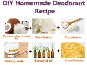 Diy Homemade Deodorant Recipe