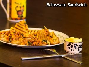 Schezwan Sandwich