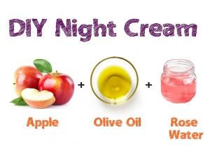 Diy Night Cream Recipe With Apple
