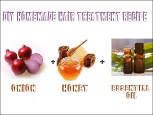 Diy Home Made Hair Treatment Recipe Using Onion Honey And Essential Oil