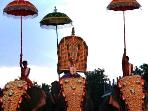 Onam Celebrations At Thrikkakara Vamana Temple