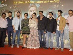 Parineeti Tabu Went Stylish Golmaal Again Trailer Launch
