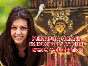 Durga Puja Special Haircare Tips