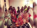 Stars Styled At Bollywood Karva Chauth Party