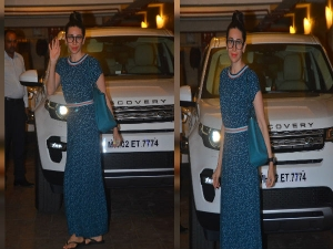 Karisma Kapoor Carried A Classy Maxi Dress For Her Saturday OOTD
