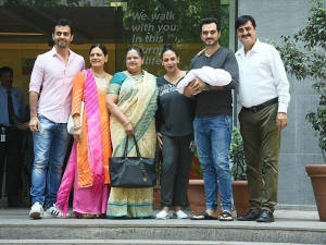 Esha Deol Delivered Baby Girl Her Post Delivery Look Is Cool And Simple
