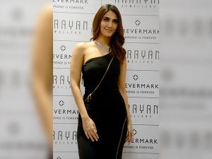 Black With Diamond Summed Up Vaani Kapoor S Event Look