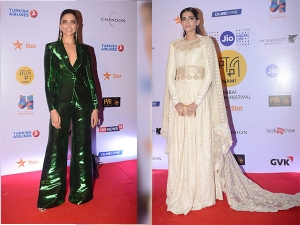 Mami Film Festival Closing Ceremony Sonam S Stunning Attire To Deepikas Style Disappointment