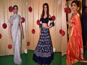 Bollywood Divas At Ekta Kapoor S Diwali Bash