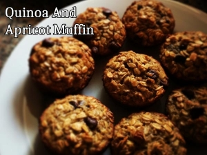 Quinoa And Apricot Muffin