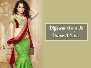 Different Ways To Drape A Saree