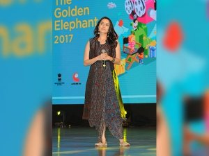 Shraddha Kapoor At The Golden Elephant In Anita Dongre