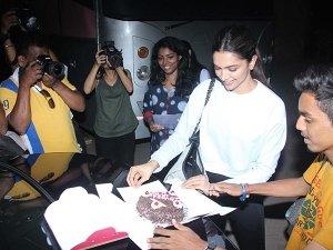 Deepika Padukone Celebrating Ten Years In Bollywood