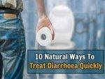 Natural Treatment For Diarrhoea