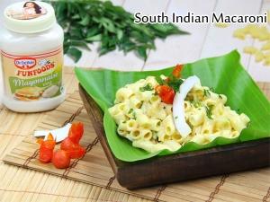 South Indian Style Macaroni