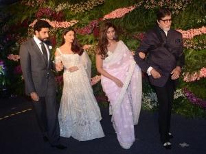 Bachchan Family At Virushka Reception Party In Stylish Avatars