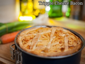 Triple Cheese And Bacon Dauphinoise
