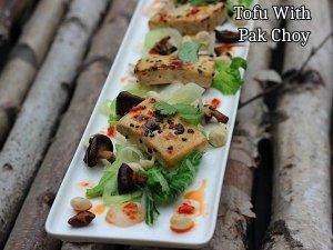 Tofu And Bok Choy Recipe