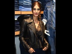 Vaani Kapoor Winter Style At Store Opening Noida