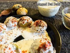 Moong Dal Dahi Vada Recipe