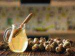 Warm Water With Honey Raw Garlic