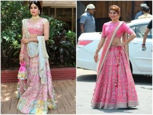 Sonamkishadi Jackie Or Janhvi Who Pulled Pink Better
