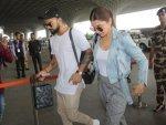 Check How Virushka Made Casual Look Sassy At The Airport