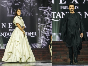 Dia Mirza And Anil Kapoor Amazeballed Us At A Fashion Show At IIFA 2018