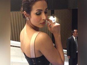 Malaika Arora Khan Is The Classic Bombshell This Black Gown