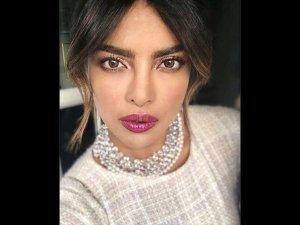 Priyanka Chopras Bold Berry Lips Gave Us Some Serious Beauty Goals
