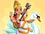 The Goddess Of Wisdom Saraswati