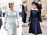 Kate Middleton S Formal Look V S Meghan Markle S Audrey Hepb