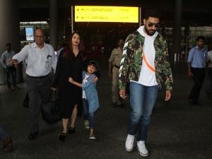 Aishwarya Abhishek Bachchan S Couple S Airport Style Is So O