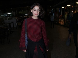 Yami Gautam Updates The Classic Dress With Modern Addition