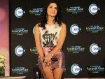 Sunny Leone Fashion At Karenjit Kaur Tv Launch New Delhi