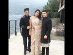 Priyanka Chopra Nick Jonas Ethnic Looks At Isha Ambani S Engagement