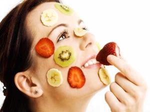 Homemade Facial Fruit Massage Cream Glowing Skin