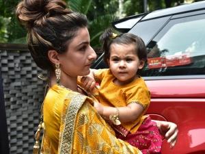 Inaaya Naumi Khemu S Cute Attire Ganesh Chaturthi
