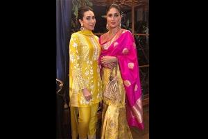 Kareena Karisma S Twinning Moment At Ganesh Chaturthi