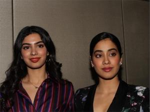 Janhvi Khushi Kapoor Fashion At Steffano Ricci Store Launch In New Delhi