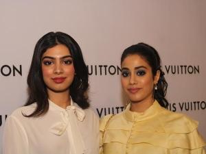 Janhvi Kapoor Khushi Kapoor Fashion At Louis Vuitton Store Launch