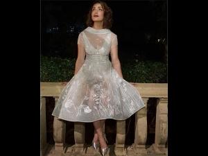 Yami Gautam Icy Dress Berger Paints India Photoshoot
