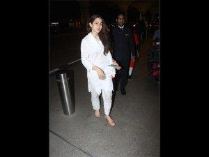 Sara Ali Khan Airport Outfit Photoshoot