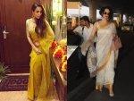 Sari Fashion Bollywood Actresses Photoshoot