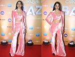 Kiara Advani Velvet Separates At Bazaar Event Photoshoot